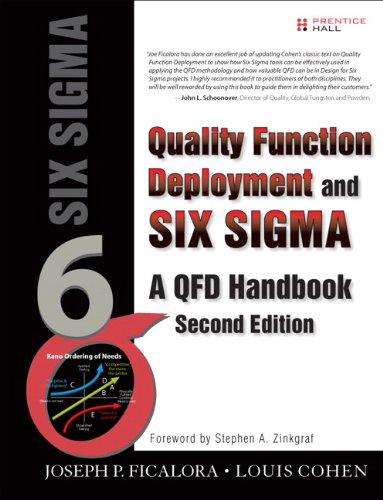 9780135138359: Quality Function Deployment and Six Sigma, Second Edition: A QFD Handbook (2nd Edition)