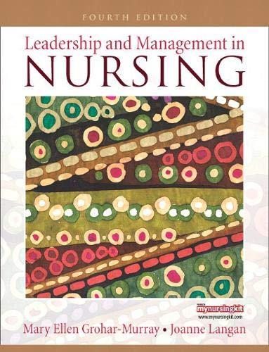 9780135138670: Leadership and Management in Nursing