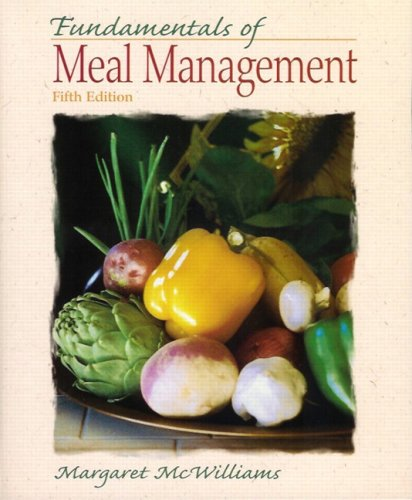 9780135140864: Fundamentals of Meal Management