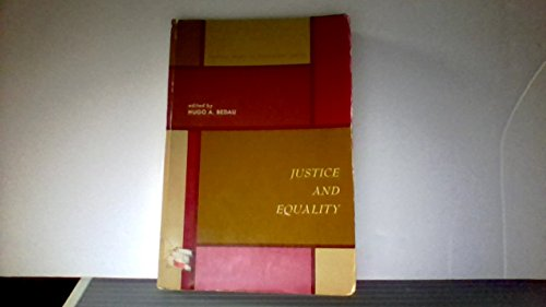 9780135141250: Justice and Equality (Central Issues in Philosophy Series)