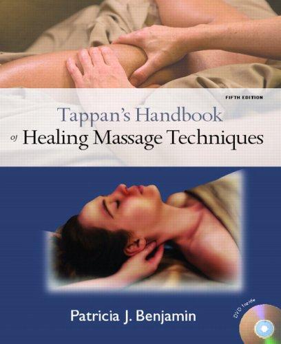 9780135142233: Tappan's Handbook of Healing Massage Techniques (5th Edition)