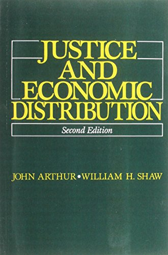 9780135142417: Justice and Economic Distribution (2nd Edition)