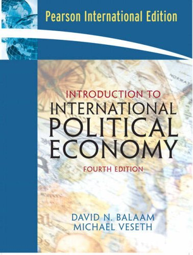 9780135143223: Introduction to International Political Economy (4th Edition International)