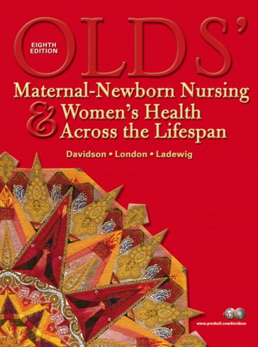 9780135143810: Olds' Maternal-Newborn Nursing & Women's Health Across the Lifespan Value Package (includes Workbook for Olds' Maternal-Newborn Nursing & Women's Health Across the Lifespan) (8th Edition)