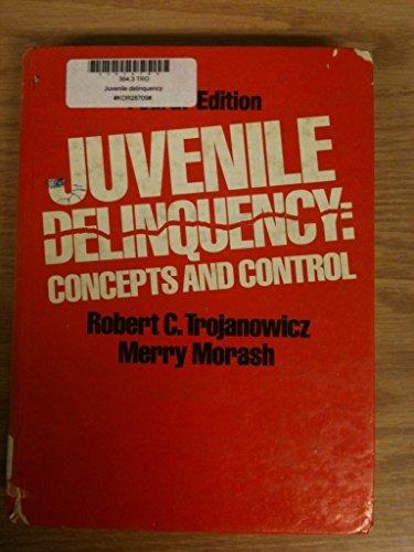 9780135143995: Juvenile Delinquency: Concepts and Control