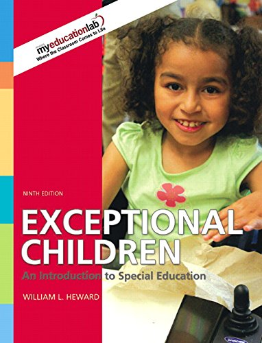 9780135144367: Exceptional Children: An Introduction to Special Education (9th Edition)