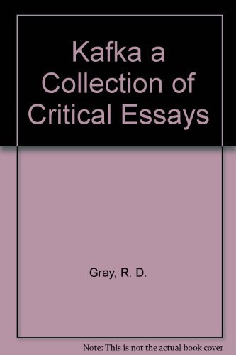 9780135144633: Kafka a Collection of Critical Essays