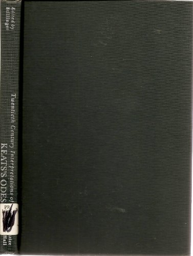 9780135147375: Keats' Odes: A Collection of Critical Essays (20th Century Interpretations)