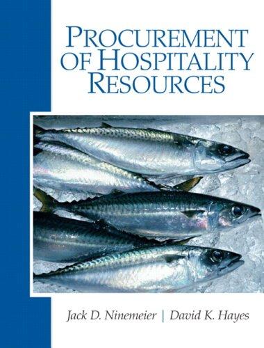 9780135148419: Procurement of Hospitality Resources