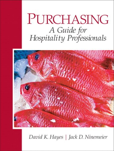 9780135148426: Purchasing: A Guide for Hospitality Professionals