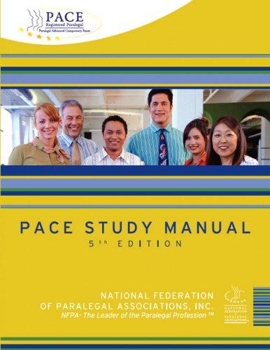 9780135150788: PACE Study Manual