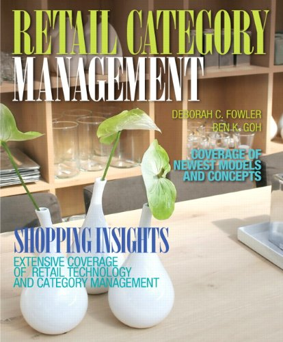 9780135152089: Retail Category Management (Fashion Series)