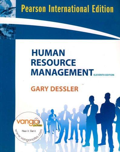 9780135153116: Human Resource Management