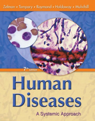 9780135155561: Human Diseases: A Systemic Approach (7th Edition)