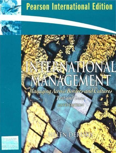 9780135156995: International Management: Managing Across Borders and Cultures (6th Edition)