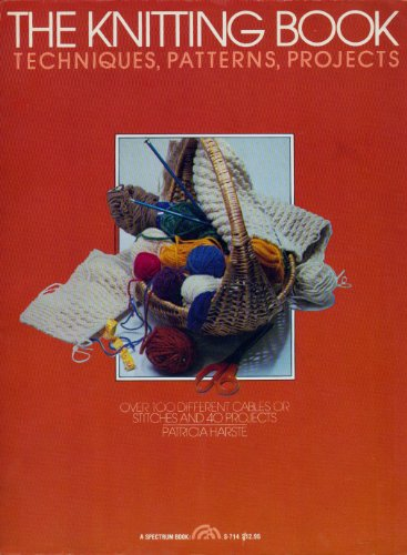 The Knitting Book: Harste, Patricia