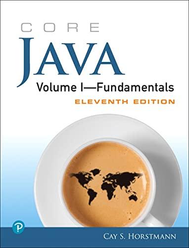 9780135166307: Core Java Volume I--Fundamentals (11th Edition) (Core Series)