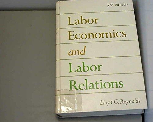 9780135177068: Labour Economics and Labour Relations