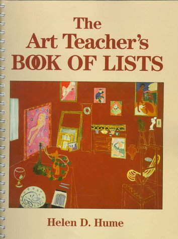 9780135177563: The Art Teacher's Book of Lists (J–B Ed: Book of Lists)