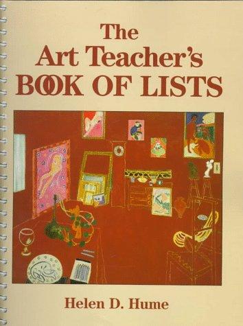 9780135177563: The Art Teacher's Book of Lists (J–B Ed: Book of Lists)