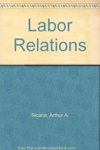 9780135177983: Labor Relations