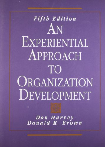 9780135179888: An Experiential Approach to Organization Development (5th Edition)