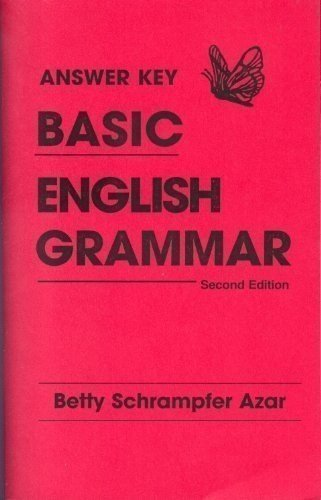 9780135181195: Basic Engligh Grammar: Answer Key Combined
