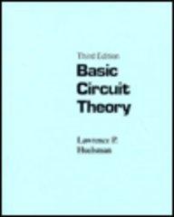 9780135187210: Basic Circuit Theory (3rd Edition)