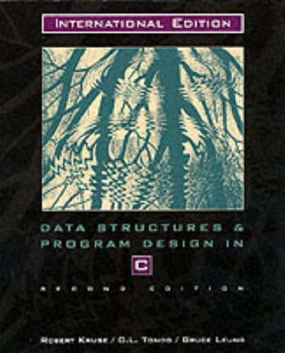 9780135190005: Data Structures and Program Design In C: International Edition (Prentice Hall International Editions)
