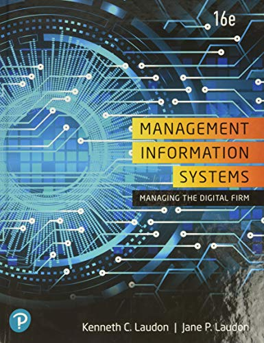 9780135191798: Management Information Systems: Managing the Digital Firm