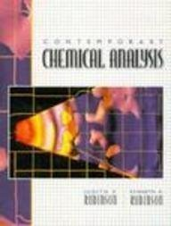 9780135193310: Contemporary Chemical Analysis