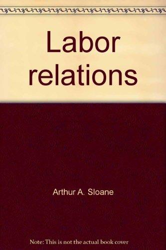 9780135195956: Labor relations