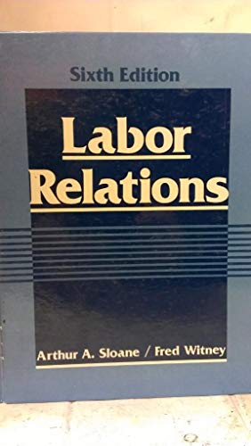 9780135196045: Labour Relations