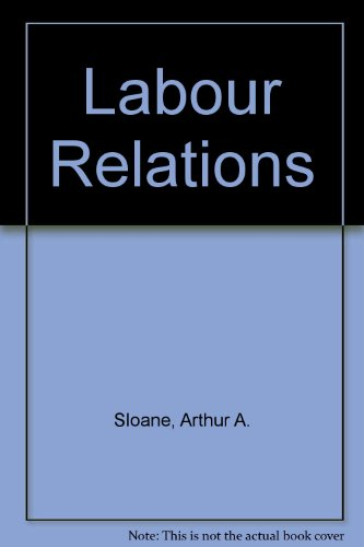 9780135196113: Labour Relations