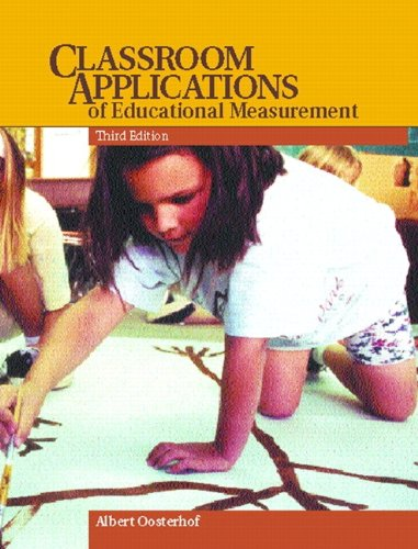 9780135203880: Classroom Applications of Educational Measurement (3rd Edition)