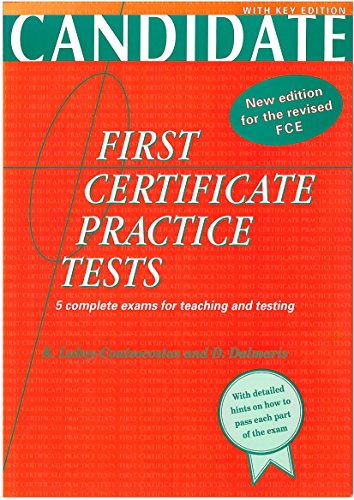 9780135216590: First Certificate Practice Tests