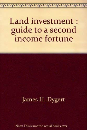9780135225738: Land investment : guide to a second income fortune