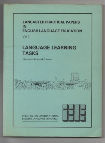 9780135230855: Language Learning Tasks (Lancaster Practical Papers in English Language Education, Vol 7)