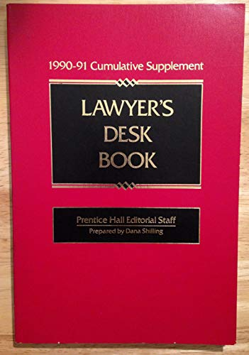9780135242087: Lawyer's Desk Book