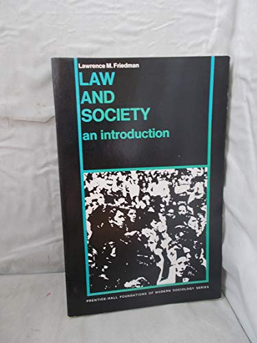 9780135266083: Law and Society: An Introduction
