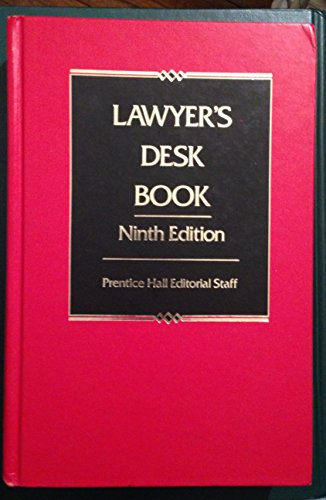 9780135267738: Lawyer's Desk Book