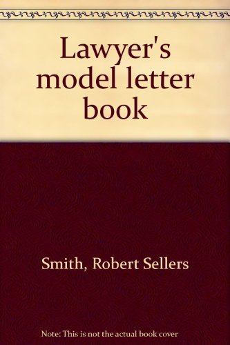 9780135268971: Lawyer's model letter book