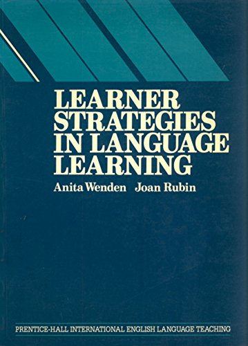 9780135271100: Learner Strategies in Language Learning (Language Teaching Methodology Series)