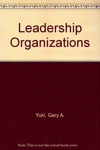 9780135271858: Leadership Organizations