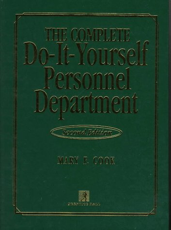 9780135274903: Complete Do-it-yourself Personnel Department