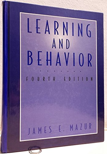9780135276235: Learning and behavior