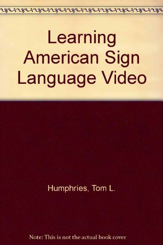 9780135289693: Learning American Sign Language Video to accompany Learning American Sign Language