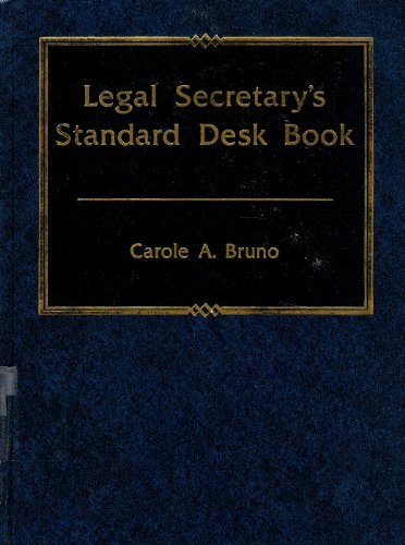 9780135293973: Legal Secretary's Standard Desk Book