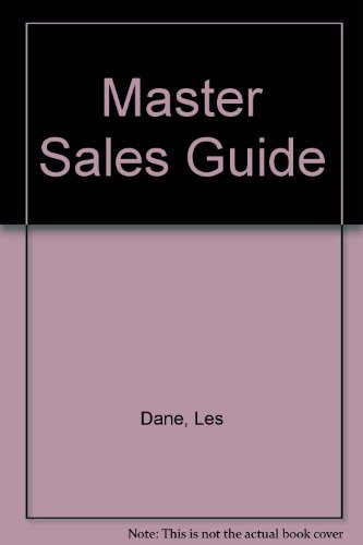 Master Sales Guide (0135305276) by Dane, Les