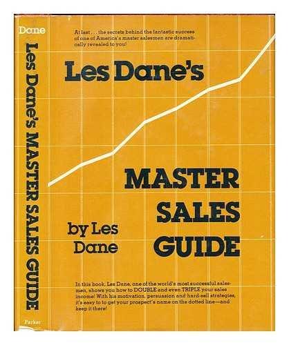 Les Dane's master sales guide (0135306000) by Les Dane